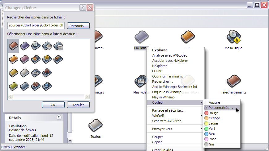 Back to icolorfolder icolorfolder enables you to easily customize the color of each